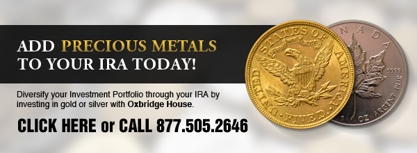 Add precious metals to your IRA today.