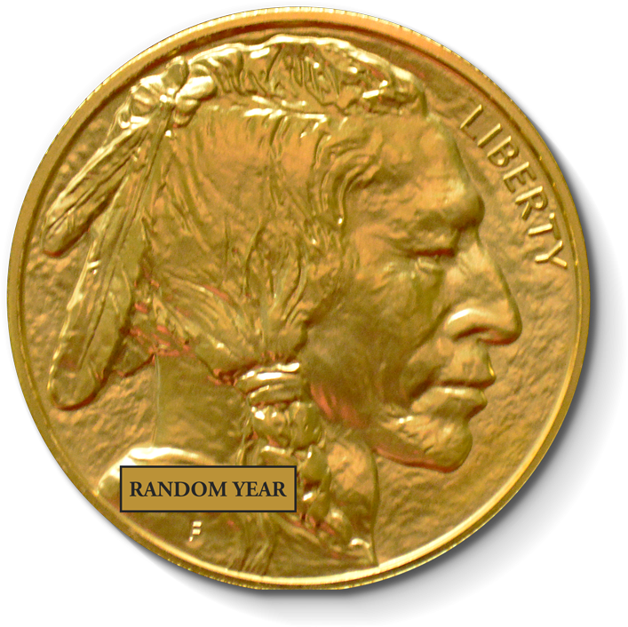 1 Oz. American Gold Buffalo (Random Year)