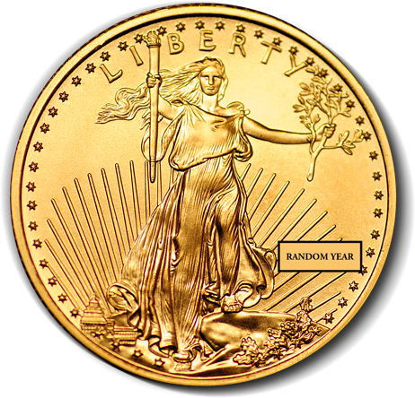 1/4 Oz. American Gold Eagle (Random Year)