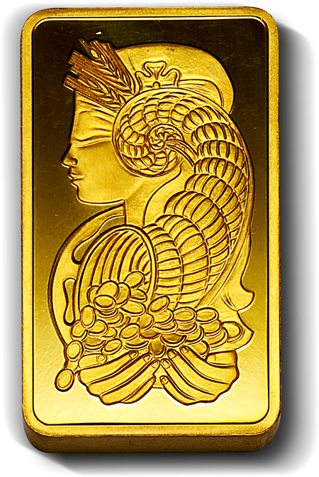 10 Oz. Gold Bar (Our Choice)