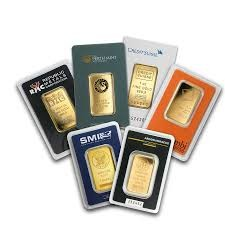 1 Oz. Gold Bar (Our Choice)
