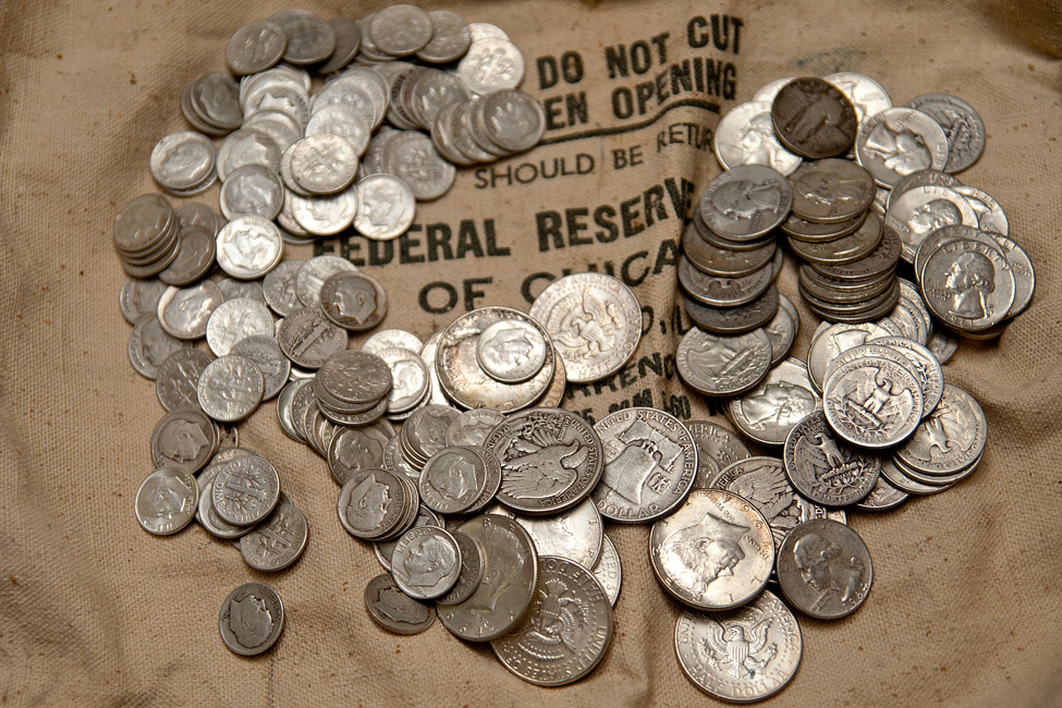 90 Junk Silver Coins 100 Face Value Bag 90 Junk