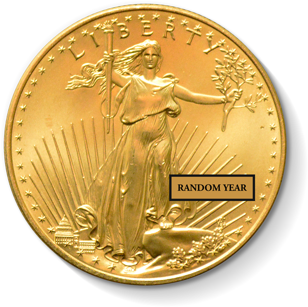 1 Oz. American Gold Eagle (Random Year)