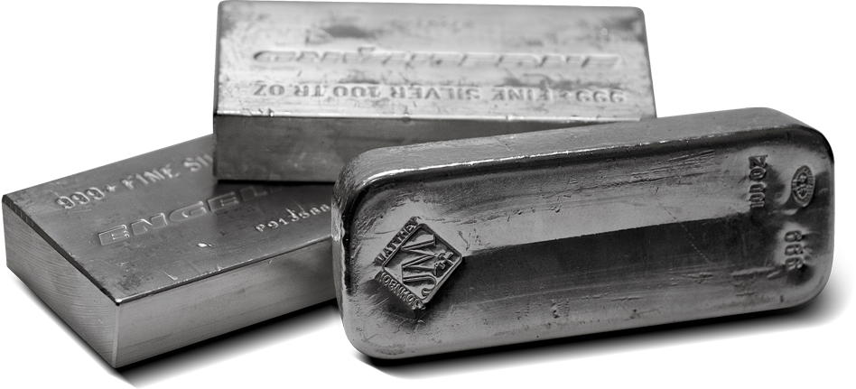 100 Oz. Silver Bar (Our Choice)