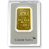 1 Oz. Credit Suisse Gold Bar
