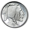 1 Oz. Buffalo Silver Rounds